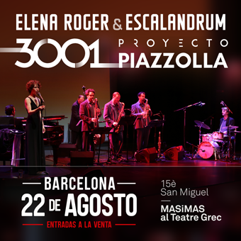 Elena Roger & Escalandrum en Barcelona