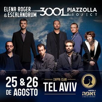 Elena Roger & Escalandrum en Israel