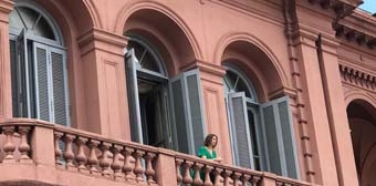 Elena Roger participó en documental
