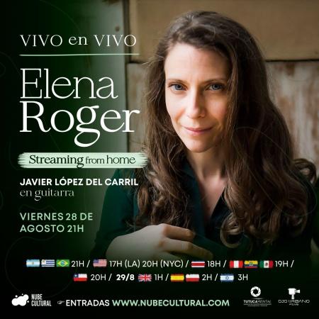 Elena Roger presenta VIVO en VIVO