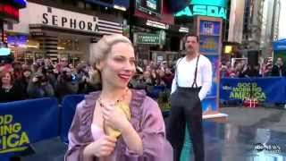 Elena Roger y Ricky Martin (Evita on Broadway)